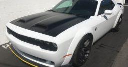 2019 Dodge Challenger SRT Hellcat Redeye Widebo