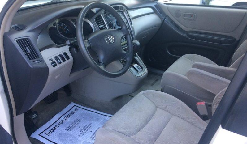 2001 Toyota Highlander Base full